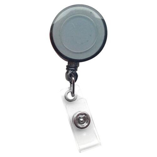 2 Einziehbar Id-Karte Ausweis Halterung Schlüsselanhänger Reels Sign Buckle Clip