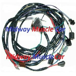 image is loading front-end-headlight-headlamp-wiring-harness-65-chevy-