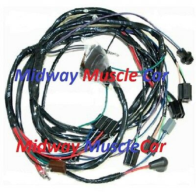 front end headlight headlamp wiring harness 66 Chevy Impala Caprice  Biscayne | eBayeBay