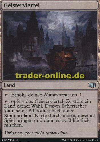 Commander 2014 Magic Geisterviertel Ghost Quarter