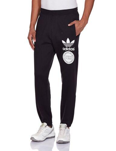 Adidas Original Trefoil Graphic Tracksuit Pants Sports Casual Trousers Bottoms