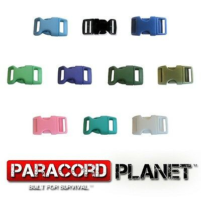 """5/8"""" Side Release Buckles for 550 Paracord Rope Bracelets 1 5 10 20 50 100 Packs"""