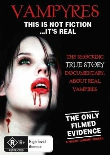1 of 1 - Vampyres (DVD) Vampires Supernatural Goth True Story [Region 4] NEW/SEALED