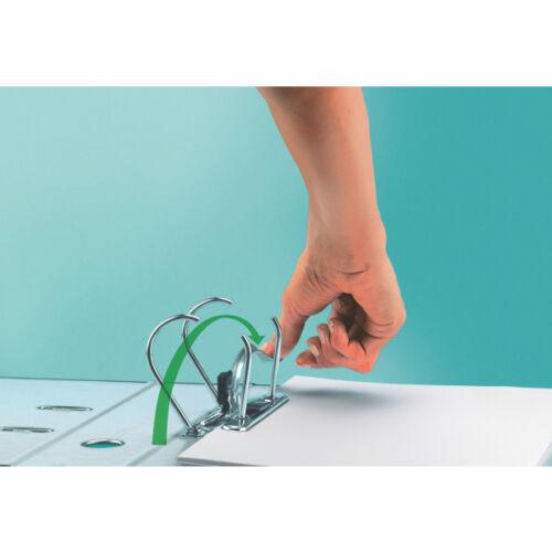LEITZ Qualitäts-Ordner 180° A4 80mm gelb 1080-50-15 Registratur NEU/&OVP