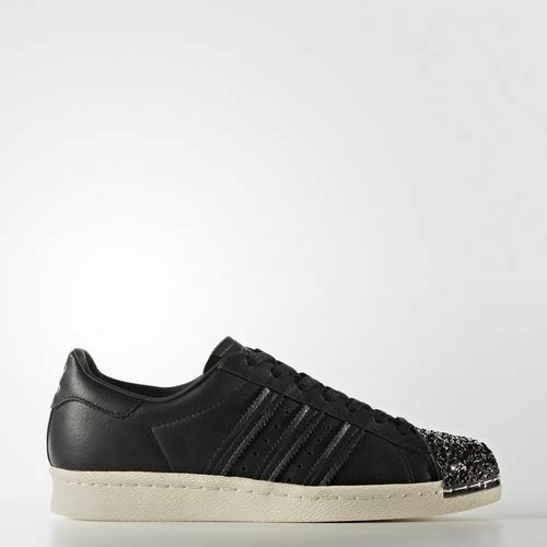 NEW ADIDAS WOMEN'S ORIGINALS TOE SUPERSTAR 80s 3D METAL TOE ORIGINALS SHOES [BB2033]  BLACK e1097f