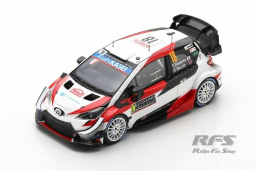 Toyota Yaris WRC Rally de Monte Carlo 2020 Takamoto Katsuta 1:43 Spark 6556 nuevo