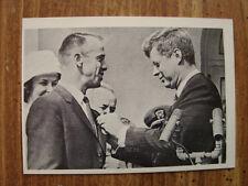 1964 JOHN F. KENNEDY Trading Card Decorating Spaceman Cmdr. Alan B Shepard (B25)