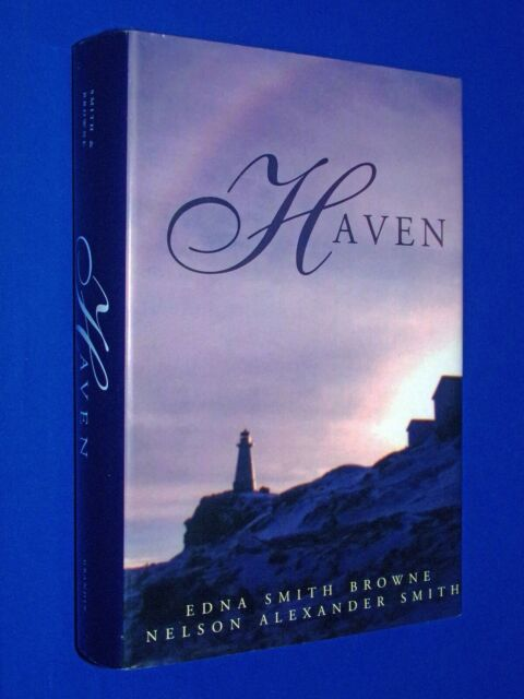 SIGNED Haven 1st Ed HCDJ Hardcover Edna Browne Nelson Smith WW2 World War II
