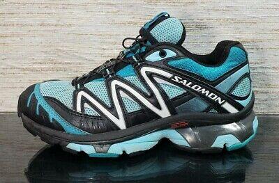 SALOMON XT WINGS 2 Women's Size 5 Blue Black Trail Running Hiking Athletic Shoes | eBay