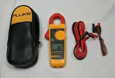 New Listingfluke 324 True Rms Ac Clamp Meter 40a400a Ac 600vacdc Case Leads Temp
