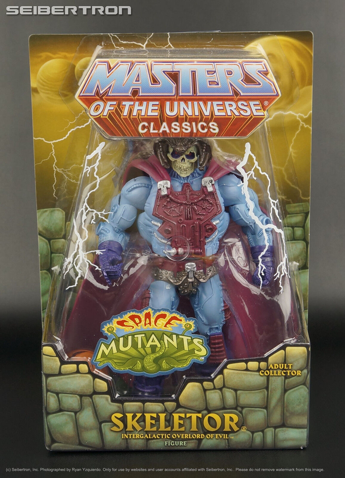 Space Mutants SKELETOR Masters of Universe Classics MOTU MOTUC w  Faker head