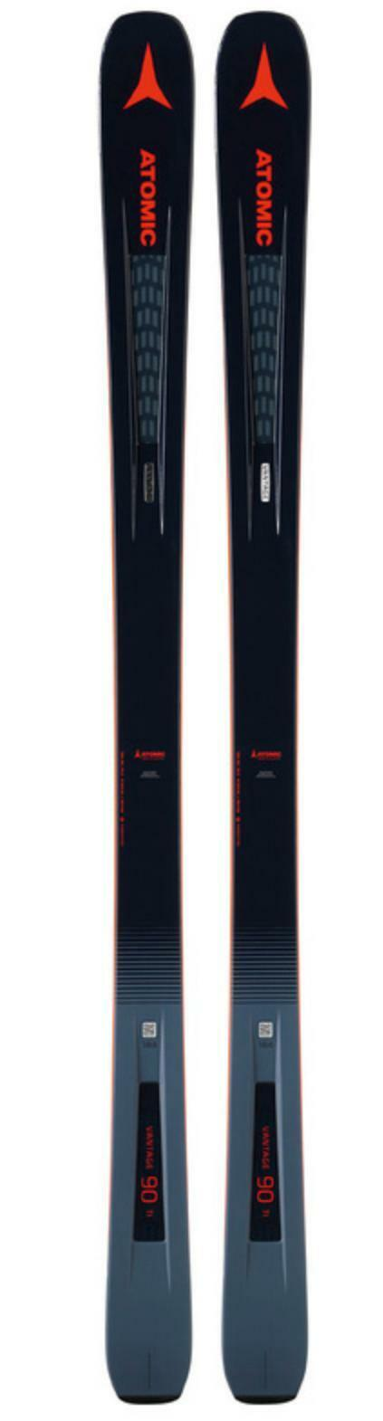 2019 Atomic Vantage 90 Ti snow skis 184 cm (BINDING options avail to add) NEW