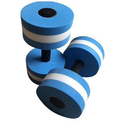 2PC EVA wWater Floating Dumbbell Aerobics Pool Aqua Exercise Yoga Medium Fitness
