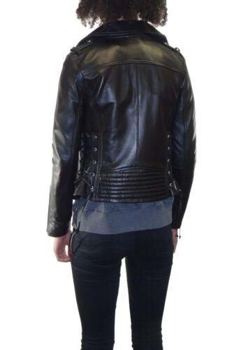 Leather Lace Women's up Moto Sides Bcbgeneration Jacket With 17RqUBx
