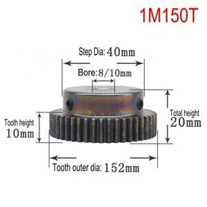10PCS 45# Steel Spur Motor Gear 1Mod 15T OD 17mm Bore 5//6//6.35//7//8mm #MW36 QL
