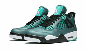 info for 36e5f 832f5 Image is loading NIKE-Air-Jordan-4-Retro-30th-Teal-White-