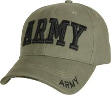 ARMY Tactical Cap Deluxe Embroidered Adjustable US Military Camo Ball Hat 9ff75932753d