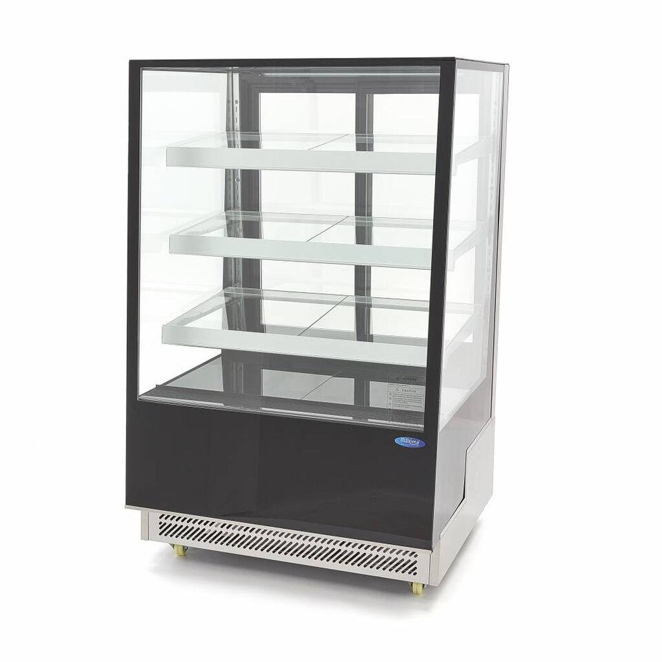 Maxima Kage / wienerbrød køleskab 400L sort