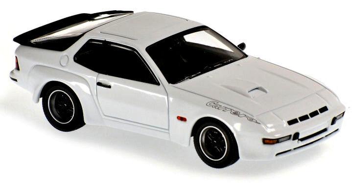 Wonderful  modelcar modelcar modelcar PORSCHE 924GT CARRERA 1981 - white - scale 1 43 6fc672