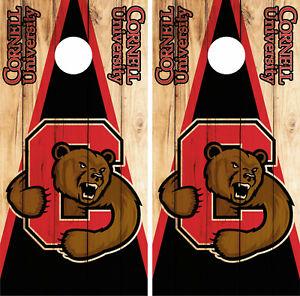 Houston Cougars Cornhole Skin Wrap NCAA College Vintage Decor Vinyl Decal DR355