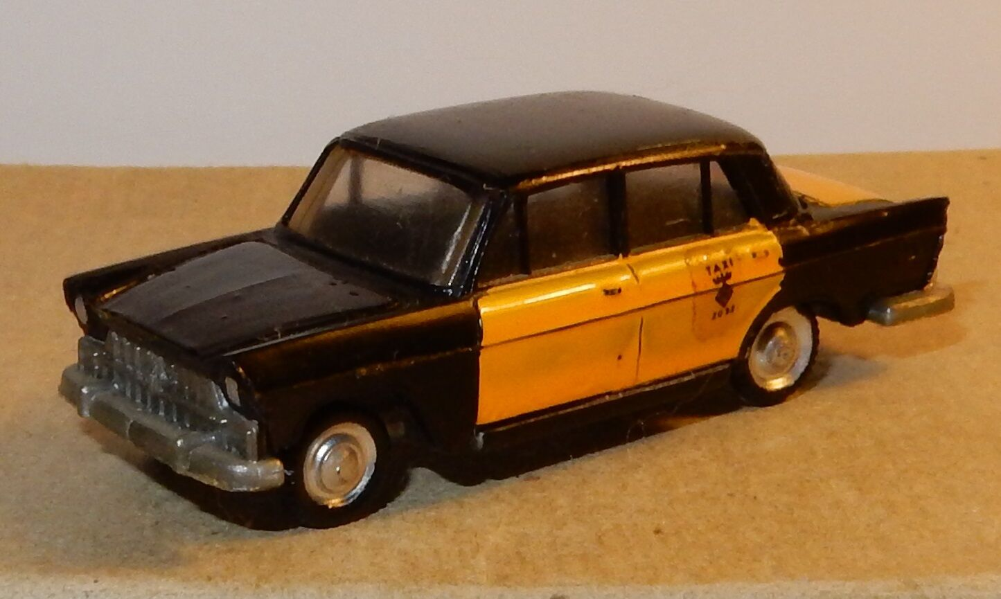 OLD 1960 MICRO EKO HO 1 86 1 87 MADE IN SPAIN SEAT 1400 C TAXI BARCELONA