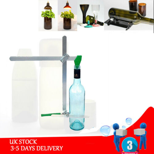 Stainless Steel Wine Bottle Cutters Machine Beer Cutting DIY Recycle Glass Tool