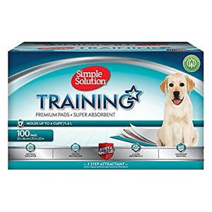 Tapis d'entraînement pour chien et chiot X Layer, solution simple, paquet de 100