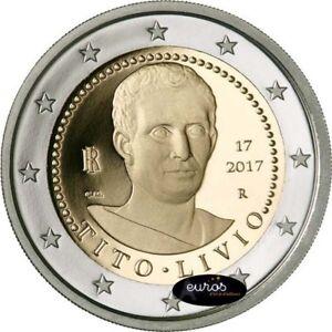 Piece-2-euros-commemorative-ITALIE-2017-Tito-LIvio-Qualite-UNC-2-2