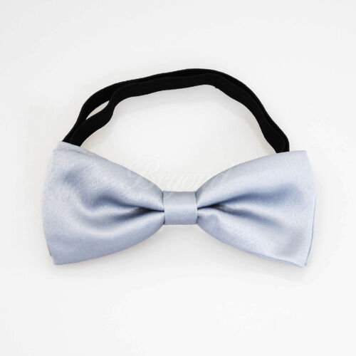 USA Seller Light Gray Suspender and Bow Tie Set for Baby Toddler Kids Boys
