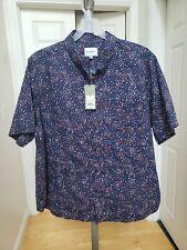 Goodfellow Short Sleeve Button Down Shirt Big /& Tall Blue Various Sizes NWT