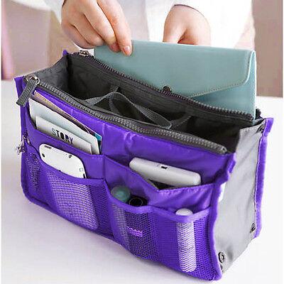 Handbag Insert Organizer Purse liner Women Ladies Makeup Organiser Bag Travel