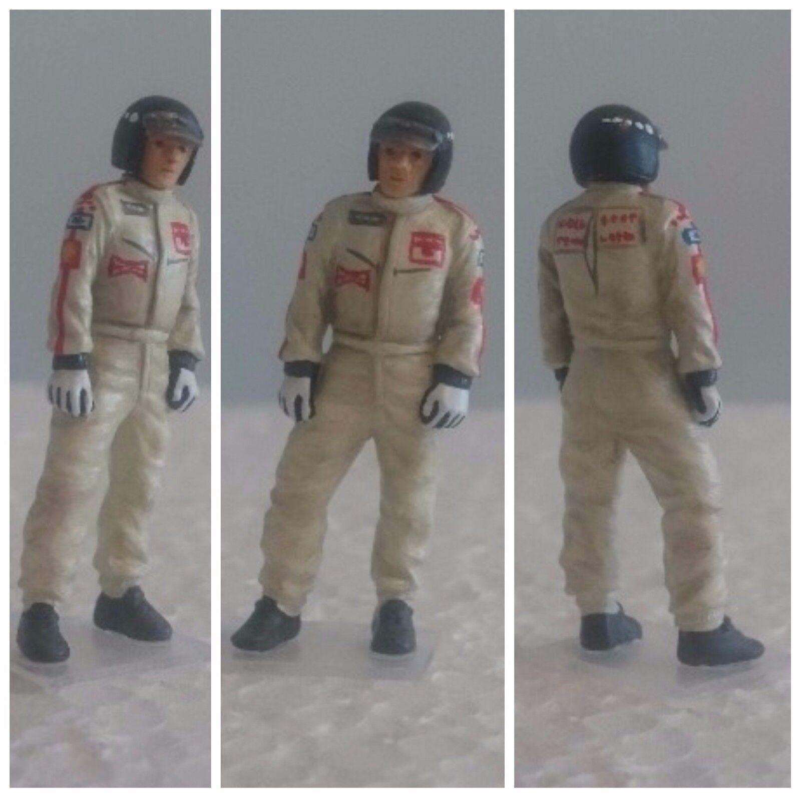Jochen RINDT Lotus Ford Ford Ford 1970 figurine pilote diorama 1 43 F1 driver figure 96137d