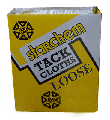 Tack Wipes Cloths Tak Rag Sticky Starchem Box 3 Boxes of MB-10 ( 30 in total )