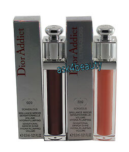 Christian-Dior-Addict-Ultra-Gloss-Choose-Your-Shade-New-In-Box