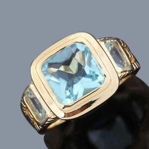 Ring-Gr-64-Fingerring-Gold-gefuellt-Herrenring-Silberring-Goldring-Siegelring