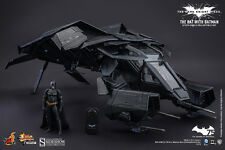THE BAT WITH BATMAN THE DARK KNIGHT RISES 1:12 HOT TOYS COLLECTIBLE SET - OFFICI