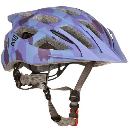 Tuzii Vela X-Function MTB Bicycle Bike Cycle Helmet  54-56cms small bluee Camo  sale with high discount