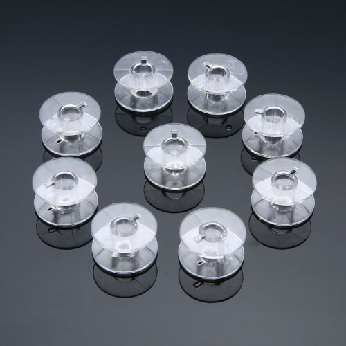 10//30//60* Plastic Sewing Machine Empty Bobbins Spool for Brother Janome Singer