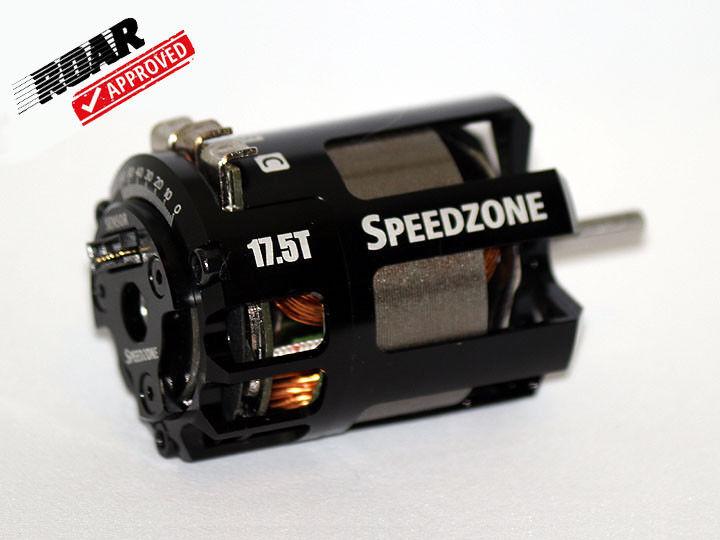 Speedzone 17.5T Spec Brushless Motor Competition ROAR  Approved Sensorosso BL nuovo   ampia selezione
