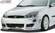 RDX Stoßstange Ford Focus 1 (mit bzw. für Blinker) Front Schürze Vorne Spoiler