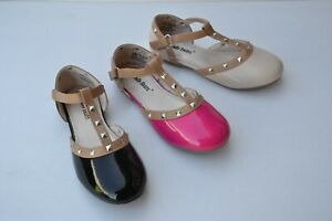 JB-yc780-Girl-ankle-strap-metal-deco-fashion-sandals-shoes-size-11-4