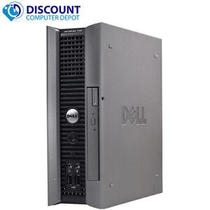 Dell-Optiplex-Desktop-Computer-Winows-10-USFF-PC-Core-2-Duo-CPU-Wifi-4GB-80GB