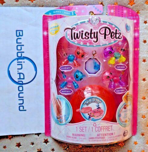 Twisty Petz Kitties and Puppies Set 4 Pack Series 1