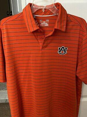 New Auburn Tigers Under Armour Heat Gear SS Loose XL Shirt NWT