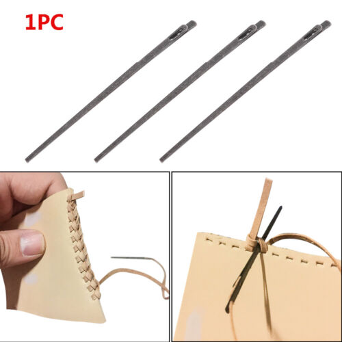 Household Lace Double Hole DIY Knitting Rope Leather Needle Sewing