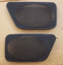 VW GOLF MK1 CABRIO SPORTLINE RIVAGE REAR DOOR CARD SPEAKER GRILL GRILLE PAIR X2