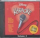 Disney Karaoke, Vol. 2 by Karaoke (CD, Apr-2000, Disney)
