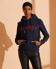 Superdry Womens Registered Flock Hoodie