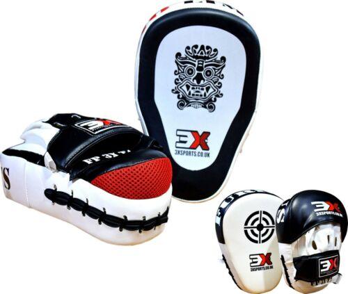 3X SPORTS Boxing Focus Pad Kick Strike Curved Muay Thai Arm Punching Shield MMA