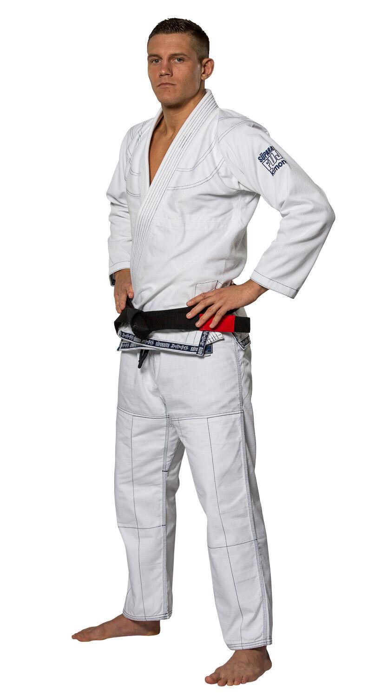 Fuji Sports Uomo Superaito Ju Jitsu Gi  Bianco